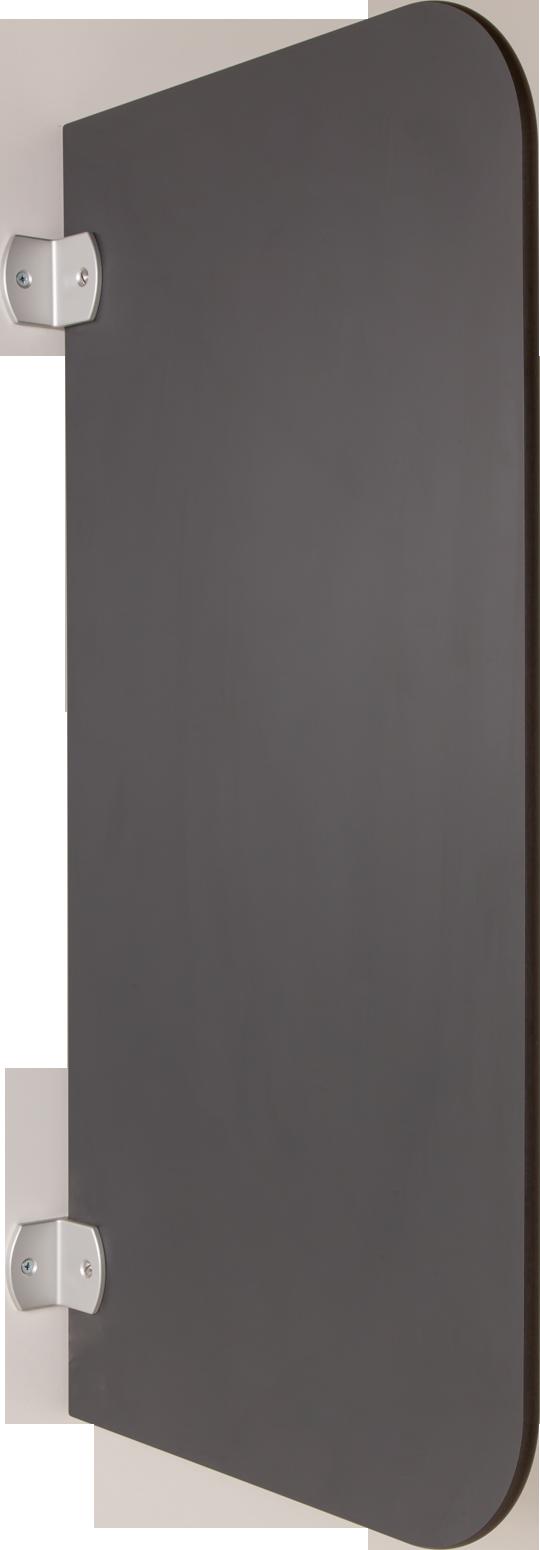 rink onlineshop schamwand urinaltrennwand aus hpl in anthrazit. Black Bedroom Furniture Sets. Home Design Ideas